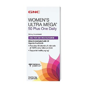 GNC Women's Ultra Mega  50 Plus One Daily