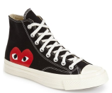 Comme des Garçons x Converse Chuck Taylor® 'PLAY - Hidden Heart' High Top Sneaker (Men)
