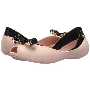 Melissa Shoes Queen IV Pink Black