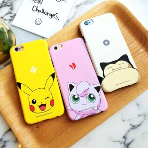 As low as $3.93 Popular Game Pokemon Series Cute Pikachu Shell Case Cover For iPhone 6 6S Plus