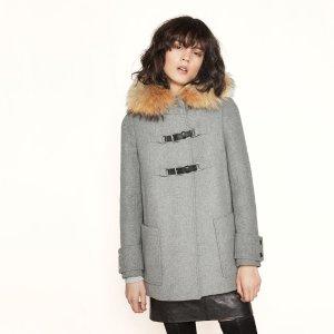 GANXIANE Wool A-line coat