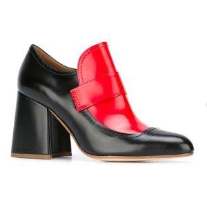 MARNI elongated loafer pumps