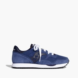 Madewell x Saucony DXN Trainer Sneakers in Suede