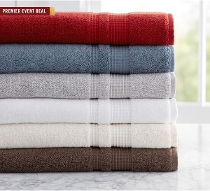 From $3PB STUDIO BATH TOWELS