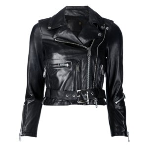 R13 Shrunken Leather Jacket | Kirna Zabete