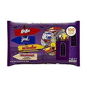 HERSHEY'S Halloween Snack Size Chocolate Assortment (38.42-Ounce Bag, 100 Pieces)