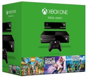 Xbox One 500gb Kinect +3Games Bundle