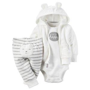 Baby Neutral 3-Piece Babysoft Cardigan Set | Carters.com