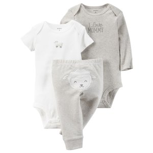 Baby Neutral 3-Piece Little Character Set | Carters.com