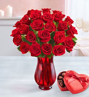 25% OffOrder Early for Valentine's Day @ 1-800-Flowers.com