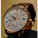 IWC Portofino Silver Dial Brown Leather Strap Men's Watch IW510107