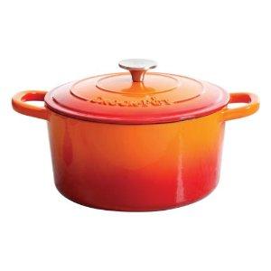 Crock-Pot 5-qt. Cast-Iron Enamel Round Dutch Oven