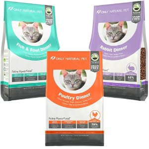 65% off + Free Shipping Only Natural Pet Feline PowerFood Dry Cat Food