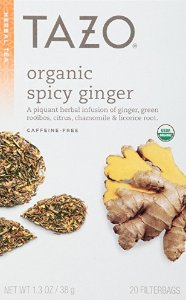 18.45 Tazo Filter Bag Tea, Spicy Ginger, 120 Count
