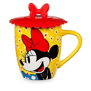 Minnie Mouse Mug with Lid | Disney Store