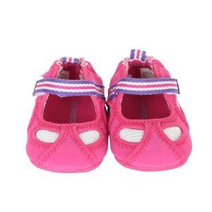 Hot Pink Wave Catcher Mini Shoez Baby Shoes | Robeez