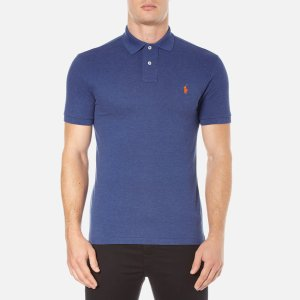 Polo Ralph Lauren Men's Short Sleeve Slim Fit Polo Shirt - Beach Royal - Free UK Delivery over £50