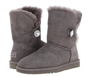 $94.49 UGG Bailey Button Bling Women' Boots On Sale @ 6PM.com
