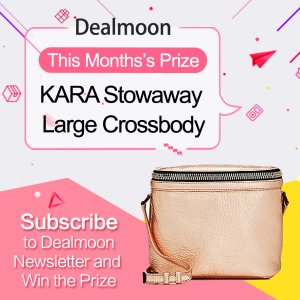 Subscribe to Dealmoon Newsletter,Win the KARA Stowaway Large Crossbody