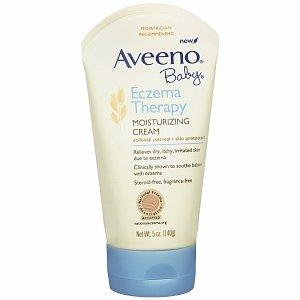 Aveeno Baby Eczema Therapy Moisturizing Cream, Fragrance Free