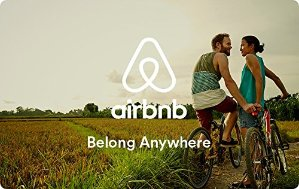 $15 Off $50Airbnb Gift Card (Email Delivery)