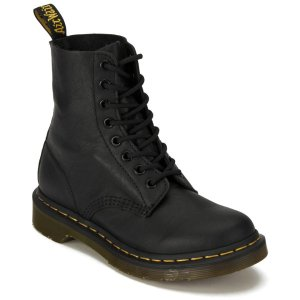 Dr. Martens Women's Core Pascal 8-Eye Virginia Leather Boots - Black - FREE UK Delivery