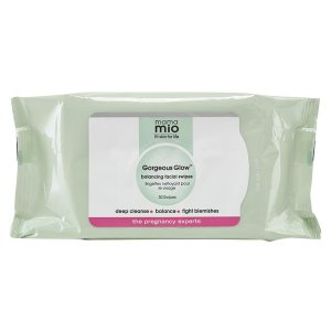 Mama Mio Gorgeous Glow Balancing Facial Swipes (30 Swipes) - FREE Delivery