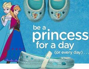 Crocs Kids Keeley Frozen™ Flat