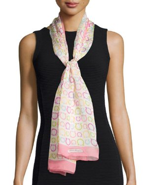 50% Off + Extra 20% Off Select Salvatore Ferragamo Silk Scarf