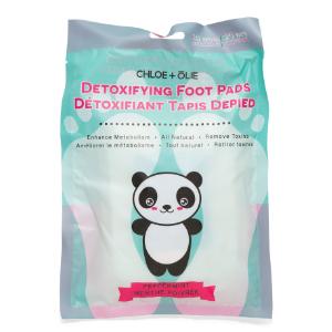 10pk Peppermint Detox Foot Pads - Bath & Body