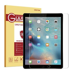 $4 OMOTON Tempered-Glass Screen Protector for iPad Pro 12.9'' / Surface Pro 3