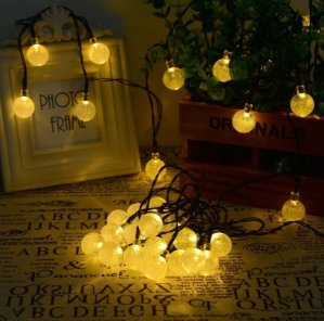Hallomall™ Outdoor Solar String Lights Fairy Lights