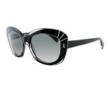 Alexander McQueen Women's AMQ4214 Sunglasses