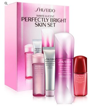 $130(Value$178) Shiseido White Lucent Perfectly Bright Serum Set