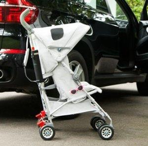 Maclaren BMW Buggy Stroller, Silver @ Amazon