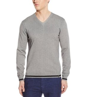 From $23.11 Calvin Klein Men's Cotton Modal Micro-Print Sweater