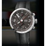 ORIS TT1 Chrono Black Rubber Stainless Steel Men's Watch