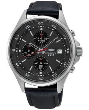 $74Seiko Men's Chronograph Watch (SKS495)