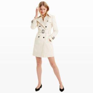 Woman | Coats and Trench Coats | Lamae Trench Coat | Club Monaco