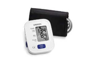 $29.99 Omron 3 Series Upper Arm Blood Pressure Monitor with Cuff that fits Standard and Large Arms (BP710N)