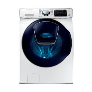 Samsung 5.0 cu. ft. High Efficiency Front Load Washer with Steam and AddWash Door in White, ENERGY STAR-WF50K7500AW - The Home Depot