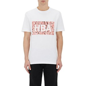 Hood by Air Ground Beef-Print Cotton Jersey T-Shirt | Barneys New York