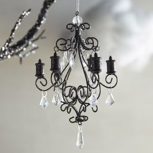 Glitter Chandelier Ornament | Pier 1 Imports