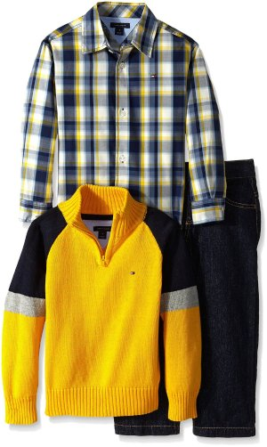 from $13.92 Tommy Hilfiger Little Boys' Gary 3 Piece Set