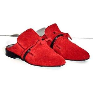 Louie mule 平底鞋