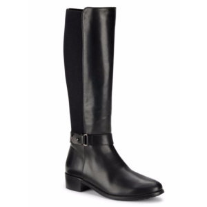 Aquatalia by Marvin K - Leather Side Zip Knee-High Boots - saksoff5th.com