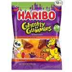 Haribo of America Ghostly Gummies, 4 oz Bag (Pack of 12)