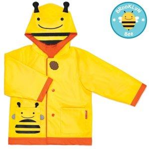 SkipHop Little Girls' Zoo Raincoat