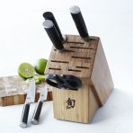 $299 Shun Classic 7-Piece Block Set with Bamboo Block