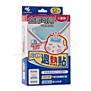 Sasa.com: KOBAYASHI SEIYAKU, Cooling Gel Sheet (Children) (12 piece)